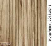 light wood background  vector... | Shutterstock .eps vector #109510346