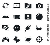 set of simple vector isolated... | Shutterstock .eps vector #1095108686