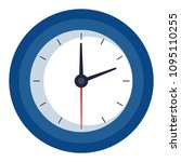 time clock isolated icon   Shutterstock .eps vector #1095110255