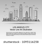 line art vector illustration of ...   Shutterstock .eps vector #1095116258