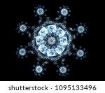 geometry of space series.... | Shutterstock . vector #1095133496