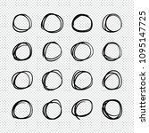 vector illustration  doodle... | Shutterstock .eps vector #1095147725