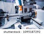 metalworking cnc milling... | Shutterstock . vector #1095187292