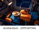 metalworking cnc milling... | Shutterstock . vector #1095187346