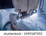 metalworking cnc milling... | Shutterstock . vector #1095187352
