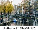 amsterdam  netherlands  ... | Shutterstock . vector #1095188402