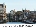 amsterdam  netherlands  ... | Shutterstock . vector #1095188468