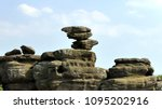Strange Rock Formations On The...