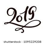 greeting card design template... | Shutterstock .eps vector #1095229208