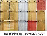 corrugated  perforated... | Shutterstock . vector #1095237428