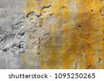 old cracked cement wall... | Shutterstock . vector #1095250265