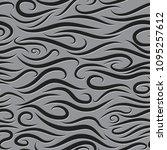 seamless wavy pattern. paper... | Shutterstock .eps vector #1095257612
