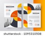flyer brochure design template... | Shutterstock .eps vector #1095310508
