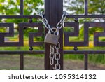 Closed On A Chain Padlock...