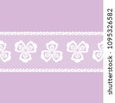 vector seamless pattern lacy... | Shutterstock .eps vector #1095326582