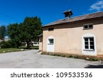 Countryside house in Estonia - stock photo
