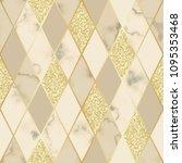 vector marble seamless pattern... | Shutterstock .eps vector #1095353468