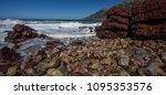 stony shore of the... | Shutterstock . vector #1095353576