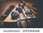 Bass Guitar Headstock Close Up