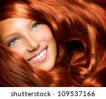Hair. Beauty With Healthy Long...