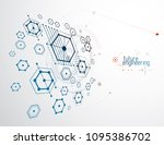 engineering technological... | Shutterstock .eps vector #1095386702