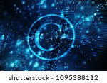 law concept  pixelated...   Shutterstock . vector #1095388112