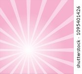 abstract pink colorful ray... | Shutterstock .eps vector #1095401426