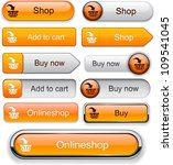 Buy Web Orange Buttons For...