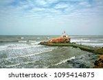 view of bhadkeshwar mahadev... | Shutterstock . vector #1095414875