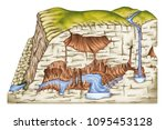 types of continental landform, the karst landforms, underground drainage, dissolution of soluble rocks, underground lake, subterranean river, karst spring, physical geography, geography, geophysics