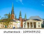 oldenburg  castle  church ... | Shutterstock . vector #1095459152