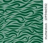 seamless wavy pattern. paper... | Shutterstock .eps vector #1095460532