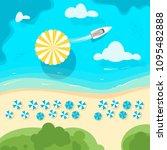 vector cartoon style background ...   Shutterstock .eps vector #1095482888