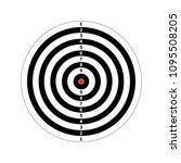 score target for shooting... | Shutterstock . vector #1095508205