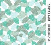 vector seamless. pattern wiht... | Shutterstock .eps vector #1095511892
