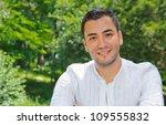 portrait of relaxing man ... | Shutterstock . vector #109555832
