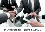 close up. business people... | Shutterstock . vector #1095562472