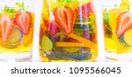 delicious and tasty alcohol... | Shutterstock . vector #1095566045