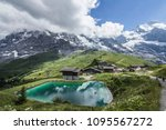 gorgeous alpine views ... | Shutterstock . vector #1095567272