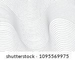 wavy vector background | Shutterstock .eps vector #1095569975