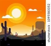 Desert In Gradient Colors....