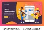 mock up design website flat...