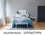 elegant fashionable interior of ... | Shutterstock . vector #1095607496