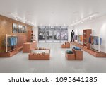 store interior. 3d illustration | Shutterstock . vector #1095641285