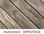 wooden boards   planks. natural ...   Shutterstock . vector #1095670616