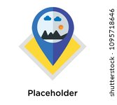 placeholder icon isolated on...