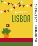 translation  festivities of... | Shutterstock .eps vector #1095746942
