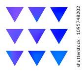 vector gradient reverse... | Shutterstock .eps vector #1095748202