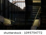 collage of modern architectural ...   Shutterstock . vector #1095754772