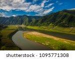 lijiang grand canyon turns... | Shutterstock . vector #1095771308